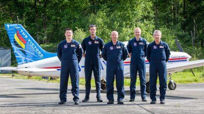Ultiem eerbetoon voor de zorg: vijf pipers vliegen zaterdagavond in formatie over ziekenhuizen en rusthuizen