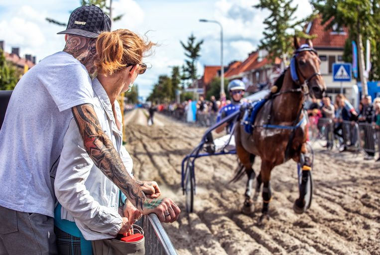 De korte baan op de Meerlaan in Hillegom. Beeld Raymond Rutting / de Volkskrant