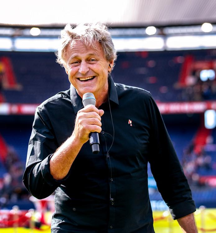 Peter Houtman is speaker bij Feyenoord.