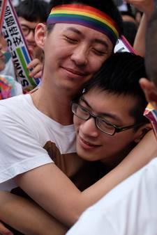 Taiwan legaliseert homohuwelijk als eerste Aziatische land
