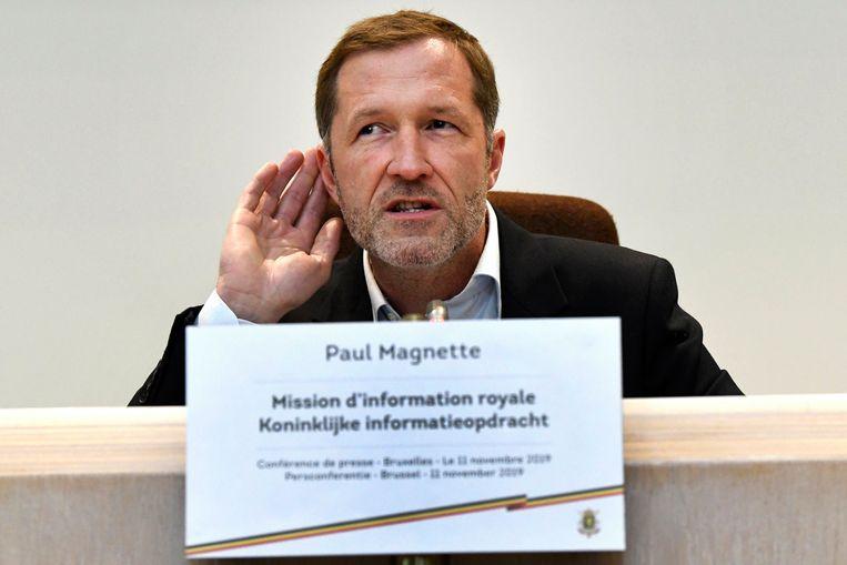 Informateur Paul Magnette (PS).