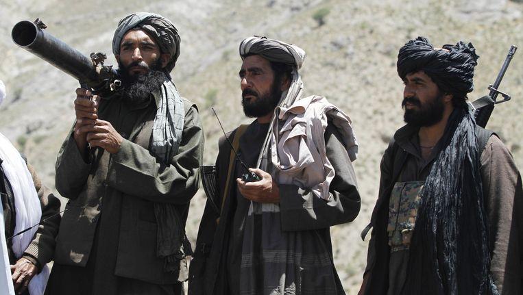 Taliban-strijders in het district Shindand. Beeld null