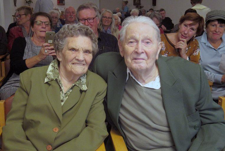 Jos Van Houtven en Maria Bouwen zijn 70 jaar getrouwd.