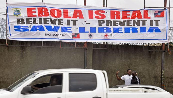 Monrovia, capitale du Liberia, samedi 9 août.