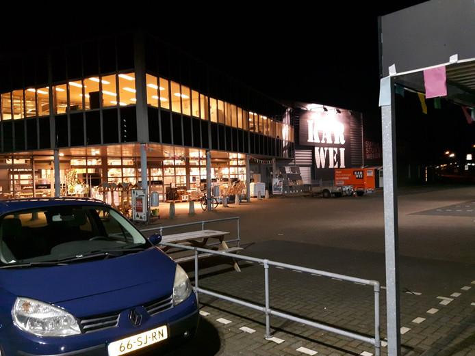 Eén van de bouwmarkten in Den Bosch.