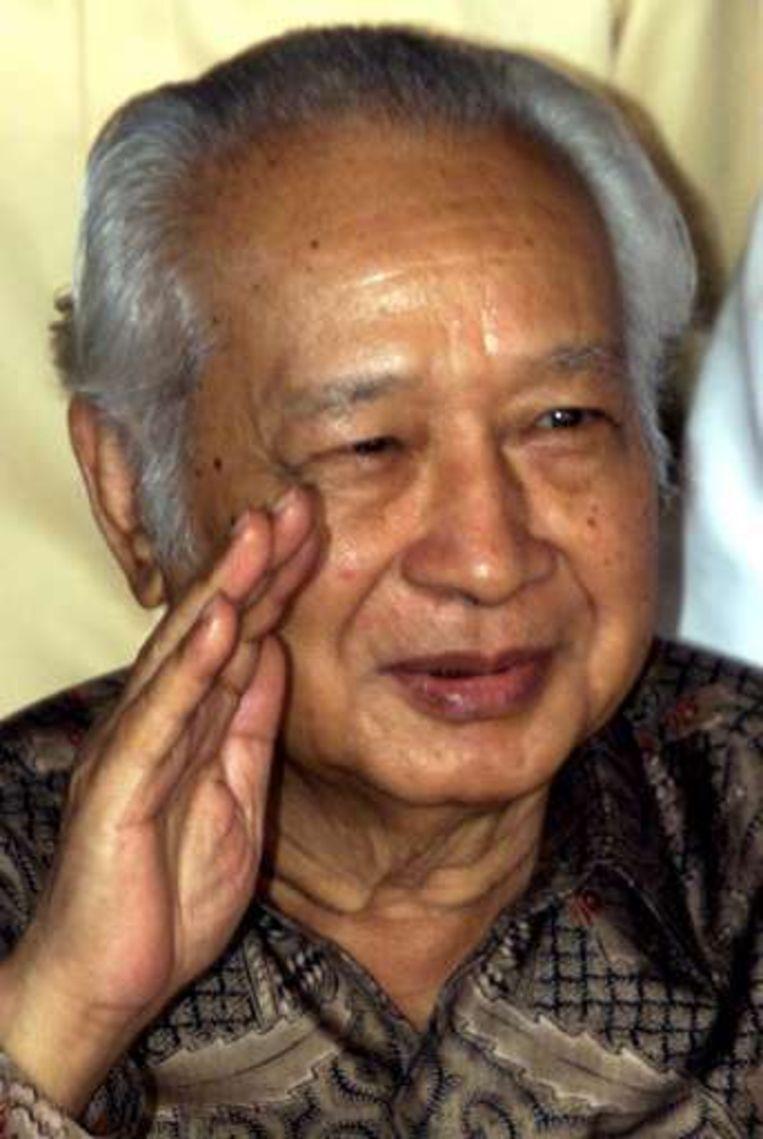 Suharto overleed in januari van dit jaar.