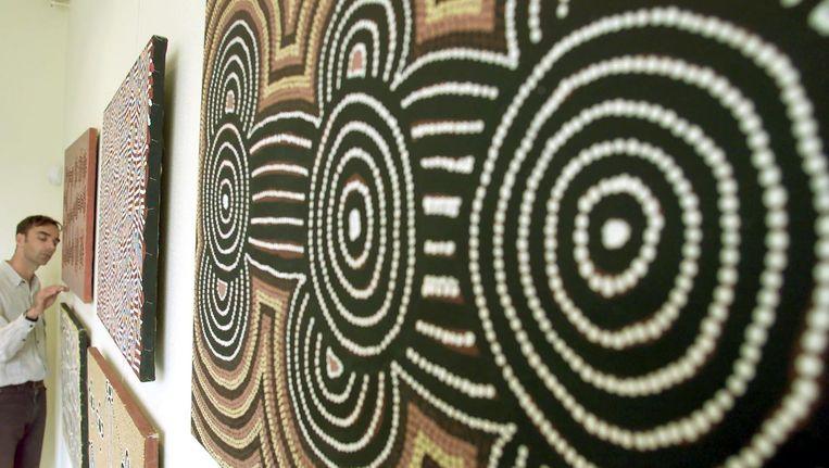 Het Aboriginal Art Museum in Utrecht, een particulier museum. Beeld ANP