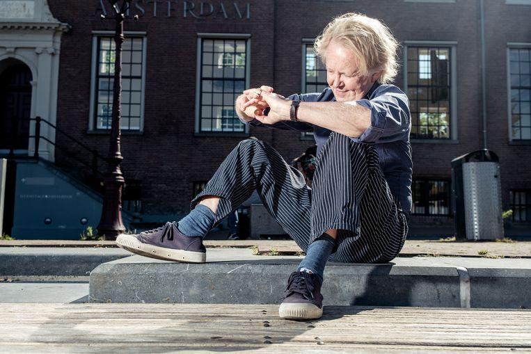 Thomas Rosenboom: 'Ik heb niet het idee dat mijn leven erg leeg is nu ik niet schrijf.'  Beeld Jakob Van Vliet