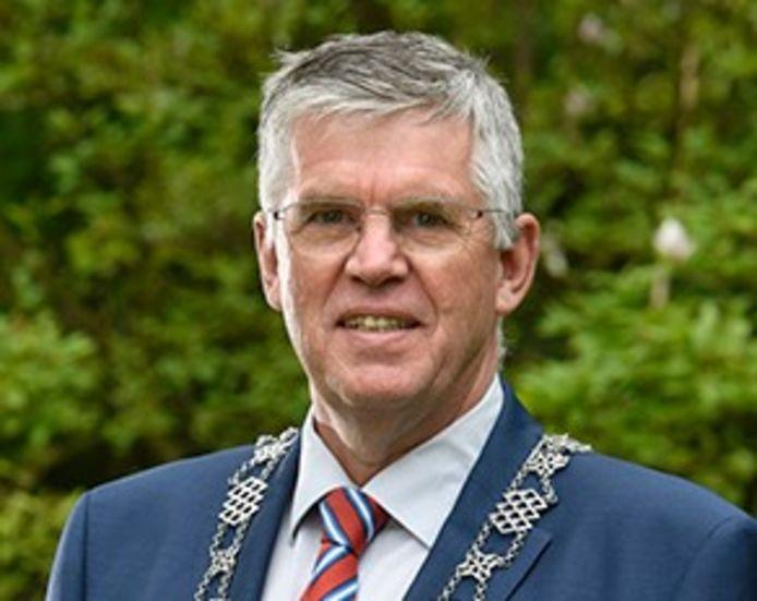 Burgemeester André Baars van Ermelo.