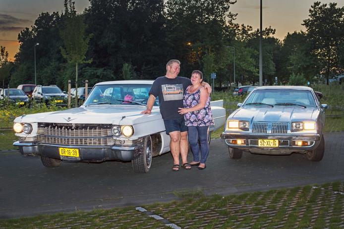 Wim en Marian Verschoor uit Oss hebben een voorliefde voor Amerikaanse bolides.