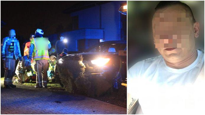 De 39-jarige man werd gisterochtend levenloos achter zijn stuur langs de Grote Dweersstraat gevonden.