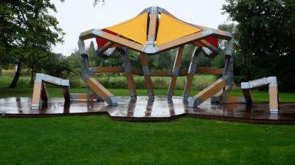 Park Bel-Air kunstzinnige maar niet-waterdichte muziekkiosk rijker