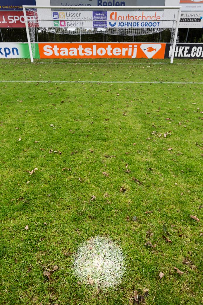 De penaltystip van FC Lisse.