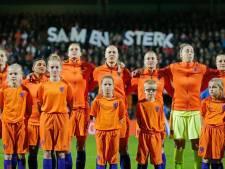 Oranje Leeuwinnen in Philips Stadion tegen Noord-Ierland