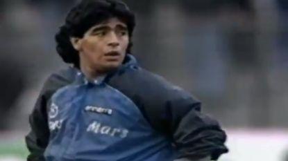 Vandaag 31 jaar oud: de iconische opwarming van Diego Maradona op de tonen van 'Live is life'