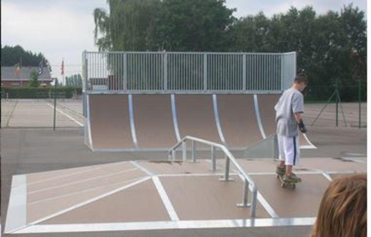 Het skatepark van Putte.