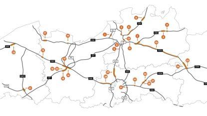 Zo wil Weyts het fileprobleem aanpakken: met 32 grote werven op snelwegen