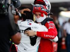 WK-klassement: Vettel naast Verstappen, Hamilton nadert wereldtitel, Mercedes wereldkampioen