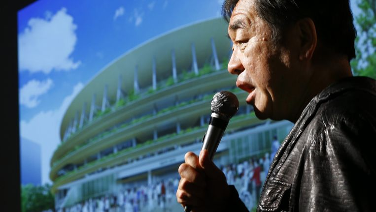 De Japanse architect Kengo Kuma. Beeld ap
