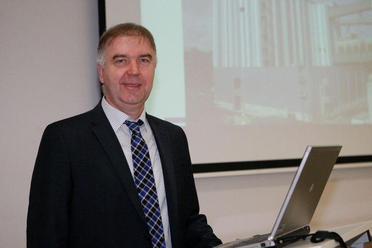Directeur Jan Ingels van de Tiense Suikerraffinaderij.