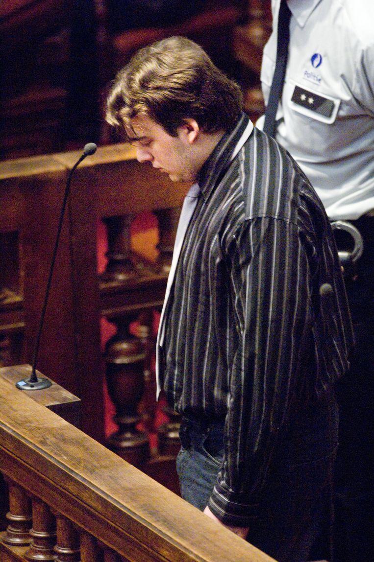 Hans Van Themsche in het hof van assisen, in 2007.