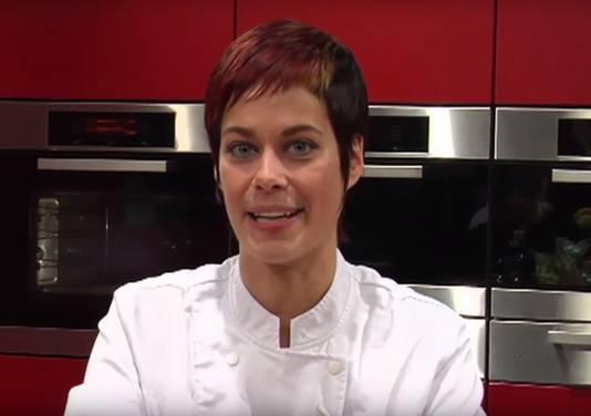 Bianca Janssen in haar programma Verstip.