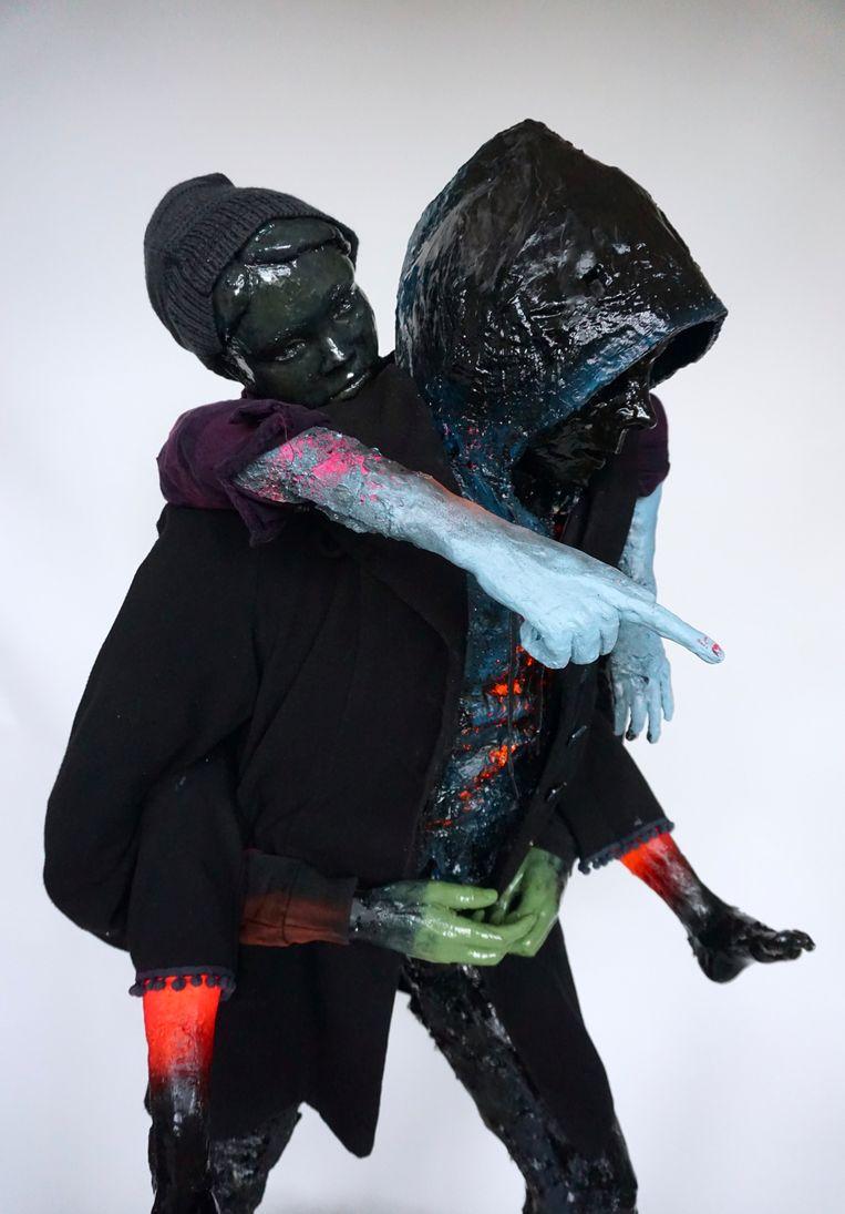 Sjaak Kooij, Horseback Rider (2020).  Beeld Galerie Bart