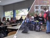 Leerlingen van Pius X-College terug naar school na coronasluiting: 'Thuis kun je uitslapen'