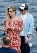 Ed Sheeran et son épouse Cherry Seaborn.