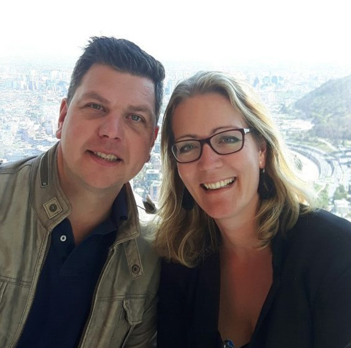 Stephan en Ilona Pos.