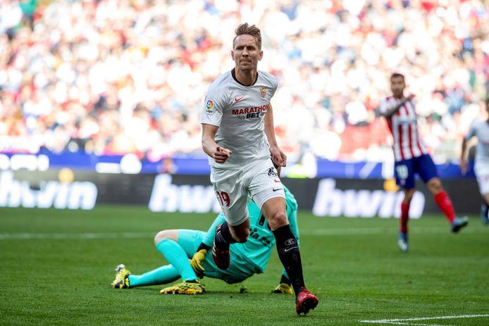 Luuk de Jong speelt in Sevilla, waar het in de zomer bloedheet wordt.