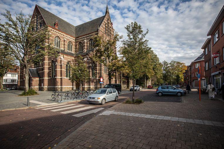 De Sint-Hubertuskerk en Pastorij van Runkst.
