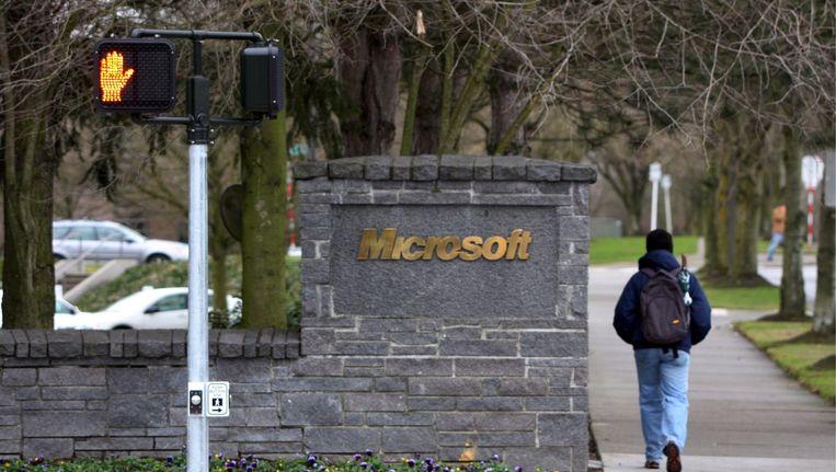 Hoofdkantoor van Microsoft in Washington Beeld anp
