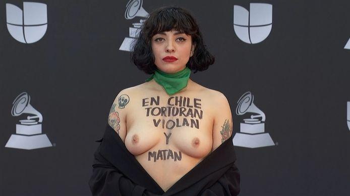 La chanteuse chilienne Mon Laferte