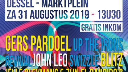Affiche Dessel Swingt compleet: Gers Pardoel sluit marktfestival af