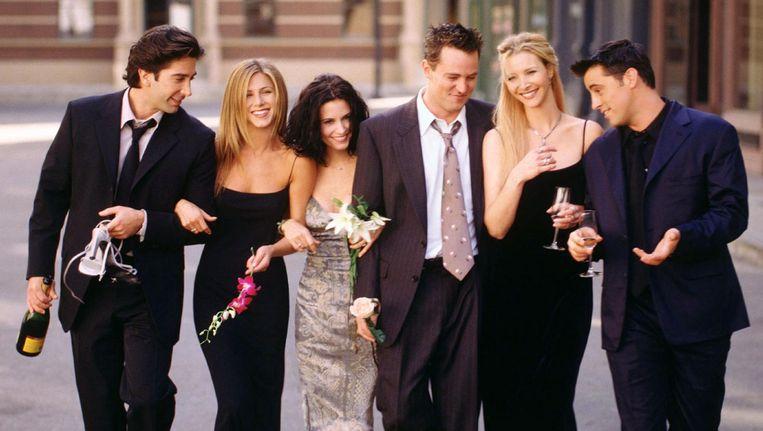 De cast van Friends in 2000. Beeld NBC