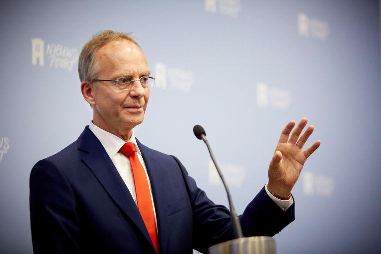Minister Henk Kamp. Beeld anp