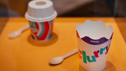 Bye, plastic rietjes: McDonald's lanceert nieuwe milieuvriendelijke verpakkingen