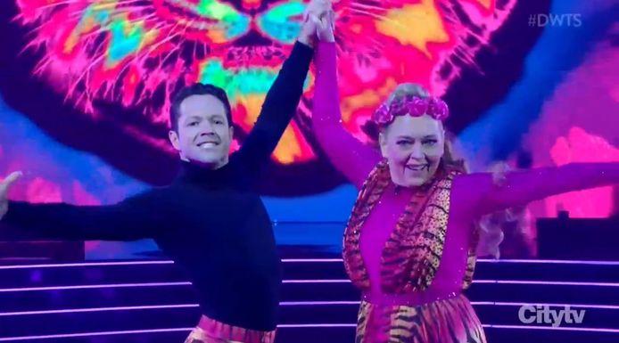 Carole Baskin in 'Dancing With The Stars'.
