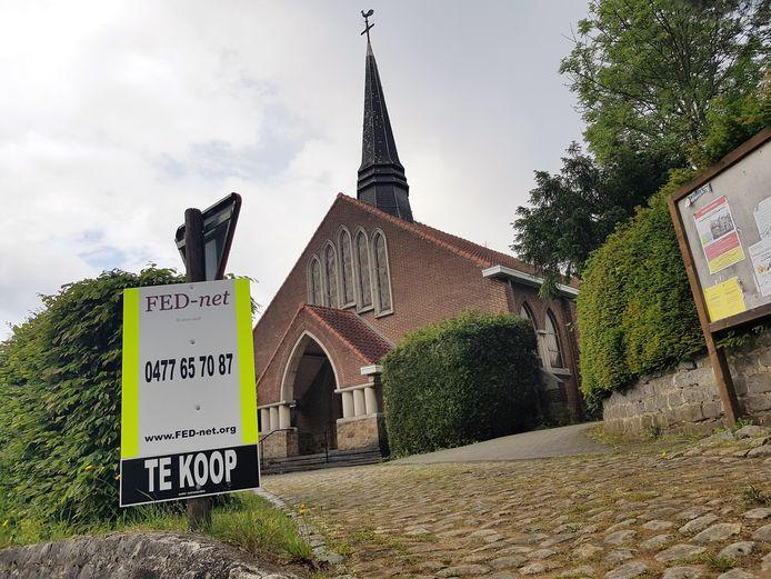 Het parochiekerkje van het gehucht Ten Broek in Sint-Genesius-Rode werd vorig jaar te koop gezet.