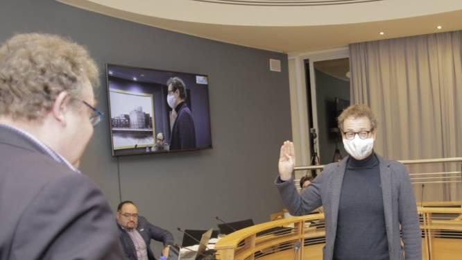 Kris De Keninck (CD&V) legt eed af als nieuw gemeenteraadslid