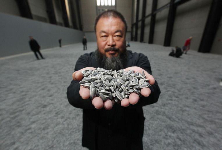 'Ai Wei Wei is wat engagement betreft wereldkampioen' Beeld Getty Images