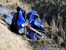 Motorrijder gewond bij val op A58