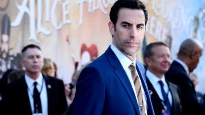 Sacha Baron Cohen haalt grap uit tijdens conservatieve rally