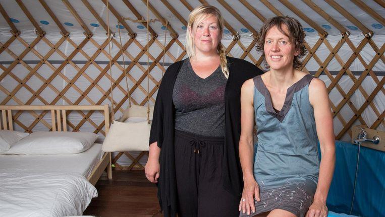 Claudia van Dijk: 'Zodra je wordt geboren, ga je ook dood' Beeld Dingena Mol