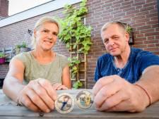 Goors veteranenechtpaar:  speciale munt is een goed gebaar
