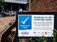 Helft minder rokers in eerste rookvrije zone Rotterdam, meer plekken volgen
