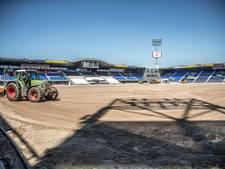 Nieuw PEC Zwolle-veld halve meter hoger