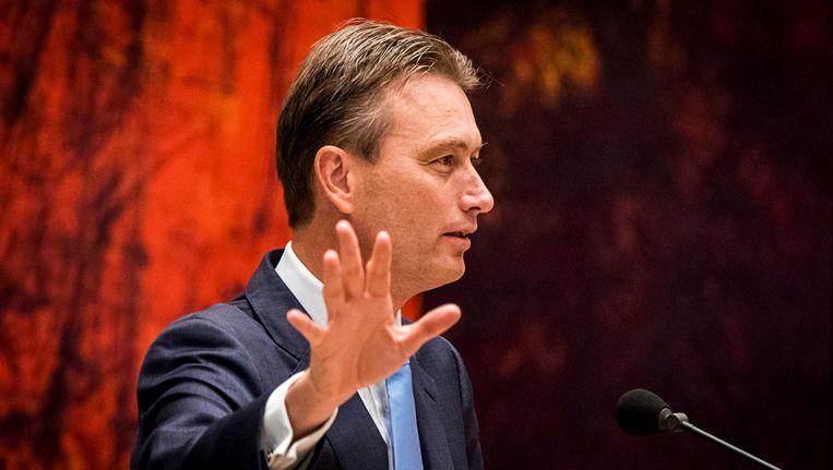 Halbe Zijlstra, winnaar van de Debatprijs. Beeld anp