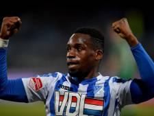 Historische galavoorstelling FC Eindhoven tegen FC Dordrecht, hoofdrol voor Elton Kabangu